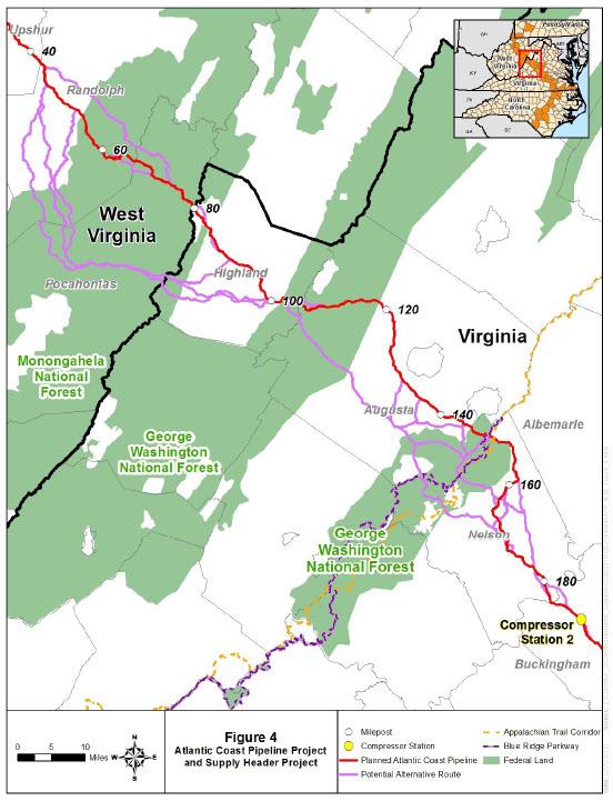 FERC Project Map