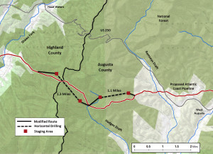 Proposed Shenandoah Mountain Drilling